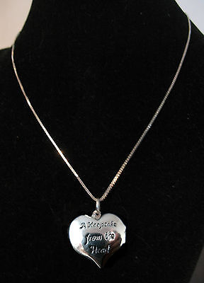 LOCKET Keepsake from the Heart Sterling RARE All Ages Girl Scouts Christmas GIFT