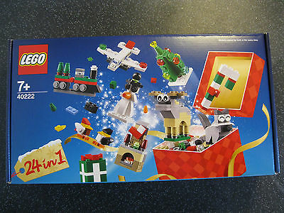 Lego Exclusive Christmas 24 in 1 Builds 40222 Brand New