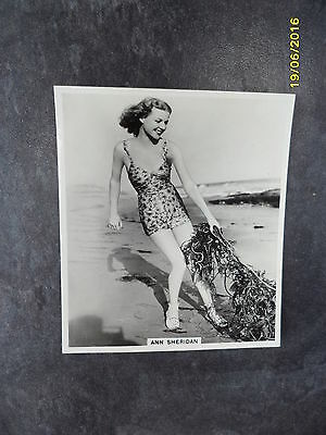 Ann Sheridan Ardath Photocard - A Continuous Series of General Interest