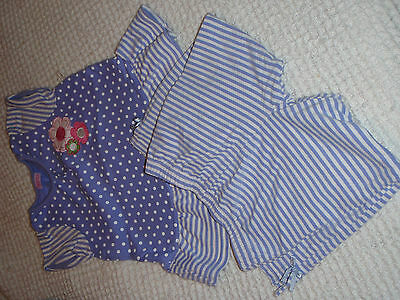 #285 Girls Top and Leggings Set Aged 3-4yrs 'BHS'