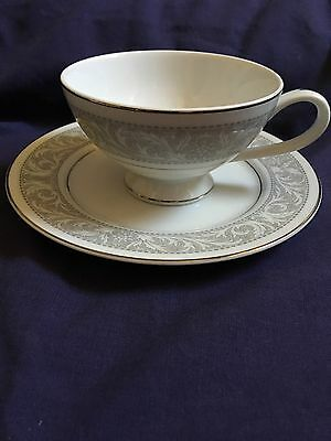 Imperial China Whitney W. Dalton 5671  Tea Cup And Saucer