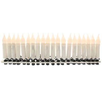 WeRChristmas 20-LED Clip Candle Christmas Tree Lights - Warm White