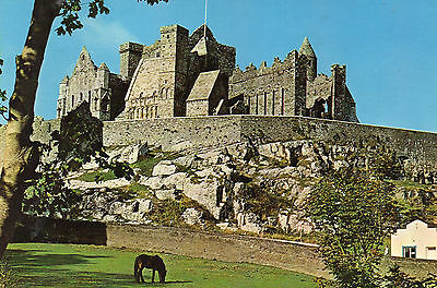 postcard Ireland  The Rock of Cashel Co. Tipperary   posted