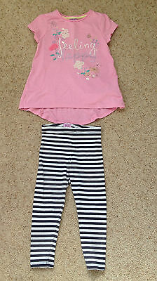 Little Girls 2 Piece Outfit From F&f Age 2-3 Years  Ex Cond