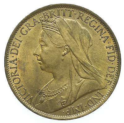 Great Britian, Victoria Penny, High Grade With Lustre, 1900