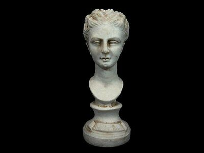 AMAZING VINTAGE ARTISTIC MARBLE DUST BUST, DEA of BUTRINT!!!