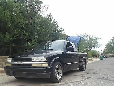 2001 Chevrolet S-10 zq8 2001 (Fundraiser) Chevy s10 Ext Cab v6 5 Speed Black Very Cool Work Truck