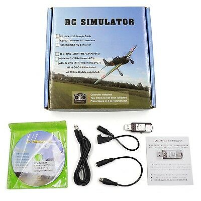 22 in 1 RC USB Flight Simulator Cable for Realflight G7 G6 G5.5 G5 Phoenix 5....