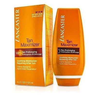 Lancaster Tan Maximizer Soothing Moisturizer Repairing After Sun Face and Bod...