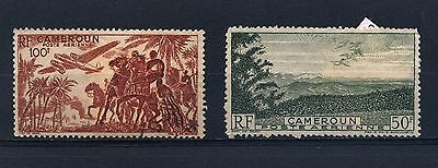 CAMEROON -1946 SG 251 & 252 used Stamps