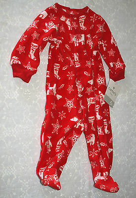 Carter's Baby Holiday Sleepwear Baby Pajamas SIZE: 6 Months NEW Christmas PJ's