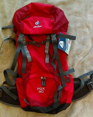 NWT Deuter Fox 30 Youth Backpack