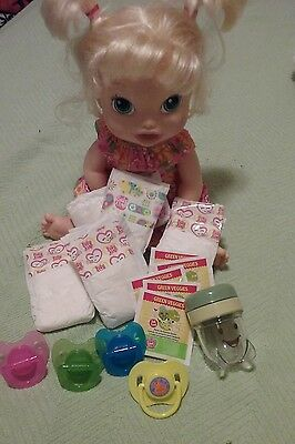 BABY ALIVE REFILL PK  DIAPERS , FOOD W CUP PACis  AND STORAGE CUP  :NO DOLL