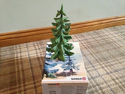#3 Schleich 30653 - Fir Tree - 23Cm - Perfect Condition - Used - Boxed - Rare