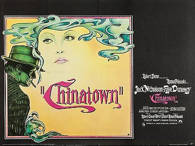 """Chinatown 16"""" x 12"""" Reproduction Movie Poster Photograph 2"""