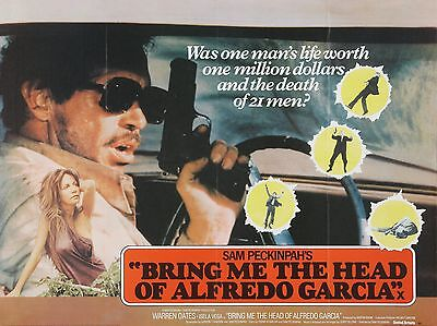 """Bring me the Head of Alfredo Garcia 16"""" x 12"""" Reproduction Movie Poster Photo"""