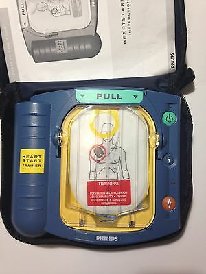 Philips Heartstart OnSite AED Trainer M5085A Defibrillator Teaching
