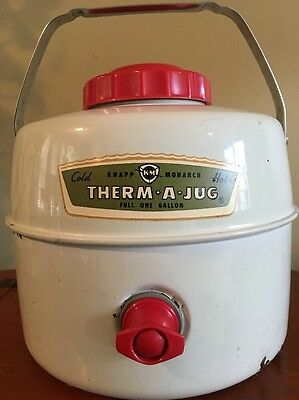 Vintage Hot-Cold Therm-A-Jug by Knapp Monarch