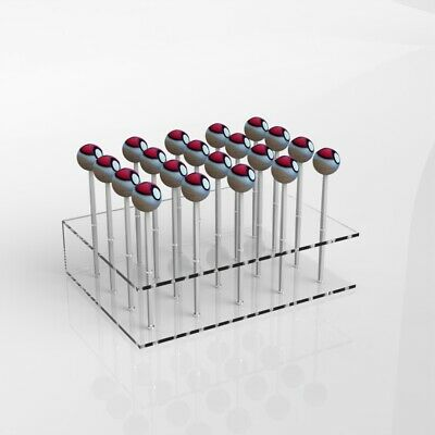 Acrylic Cake Pop Lollipop Holder Display Stand Party's Weddings Birthdays
