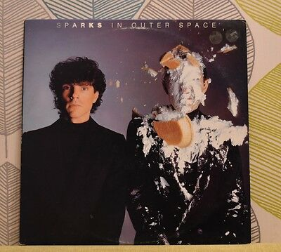 SPARKS - In Outer Space [Vinyl LP,1983] USA Import 80055-1 Synth Pop *EXC