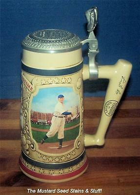 Bradford Museum CY YOUNG THE PERFECT GAME Legends Of Baseball Signature Stein!