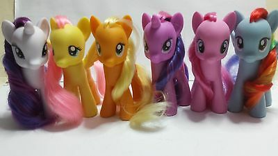 """My Little Pony rare collection """"The Mane Six"""" 8 cm"""