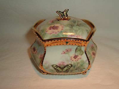 Lena Liu's Wings Of Love Enchanted Wings Porcelain Butterfly Music Box 5th Issue