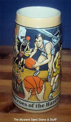 BASKETBALL Budweiser Sports Series Stein! Hero's of the Hardwood #87282