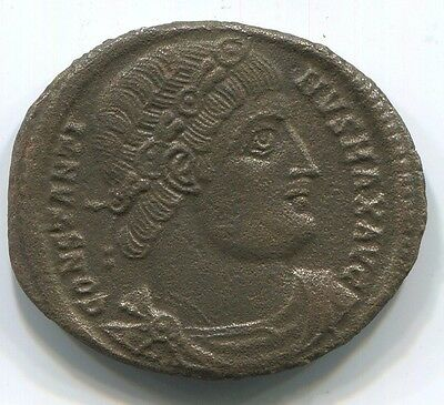 Authentic Late ROMAN Coin 2,2 gr/17 mm ANT2284.14