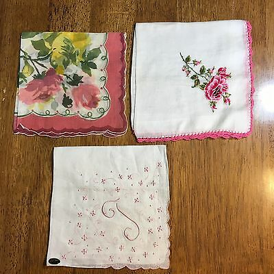 Vintage 3 pieces Soft Cotton Handkechieves