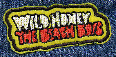 The Beach Boys • Wild Honey • Embroidered Patch • Iron On • Vintage Style