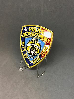 NYPD Challenge Coin Department Patch Medallion American Flag Rare