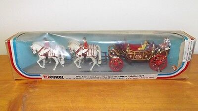 Queens Jubilee 1977 Horse & Carriage Diecast Model - Mint in box - Corgi 41