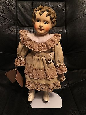 Beautiful Victorian Collectible Girl Doll