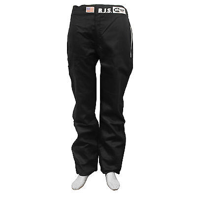 Fire Suit Sfi 3-2A/1 Pants Size 4X Black Rjs Racing Elite Pro Stock Ihra Adrl