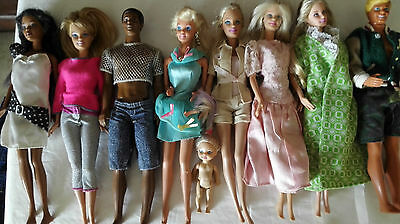 Vintage Barbie, Ken and friends, Made in Indonesia and Malaysia