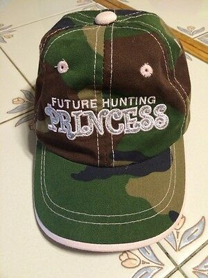 Baby Hat BASS PRO SHOPS Infant / Toddler BASEBALL CAP Pink Camouflage Princess