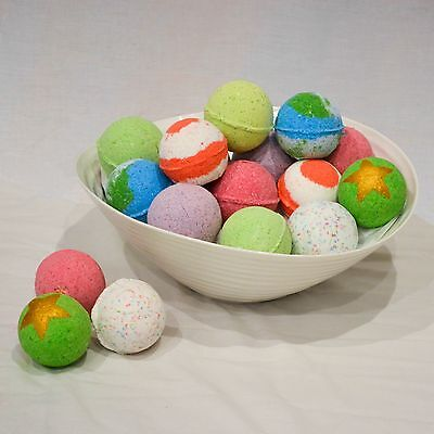 10 HANDCRAFTED BATH BOMBS: Choose any 10 for $30!