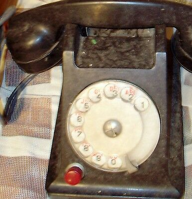 "Vintage/Antique ""Black"" Rotary Phone"