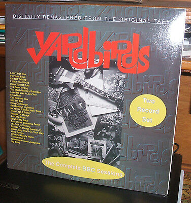 YARDBIRDS - The Complete BBC Sessions 2LP Get Back  IT 1997