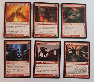 Mtg - 6 Red Cards