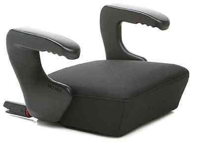 Car Booster Seat Microfiber Plastic Lock System Latch Portable 16x18x10 Inches