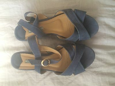 Tony Bianco Suede Sandals 8 1/2