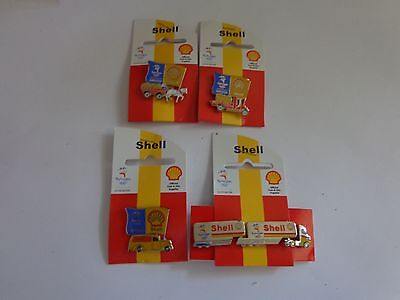 SHELL - History in Australia - Sydney 2000 Olympic Game - Set of 4 Pins New