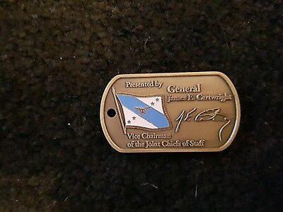 Us challenge coin vice chairman JCOS general cartwright