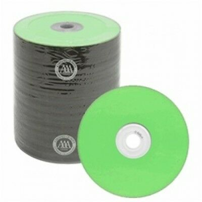100 Spin-X Diamond Certified 48x CD-R 80min 700MB Green Color Top Thermal