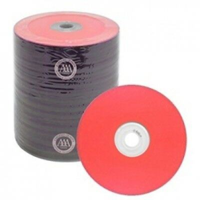 500 Spin-X Diamond Certified 48x CD-R 80min 700MB Red Color Top Thermal