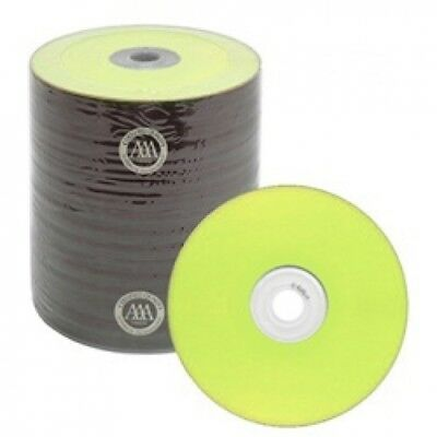 500 Spin-X Diamond Certified 48x CD-R 80min 700MB Yellow Color Top Thermal