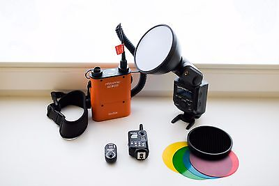 Godox Witstro AD-360 Portable Flash Light Kit + PB960 Battery Pack for Nikon