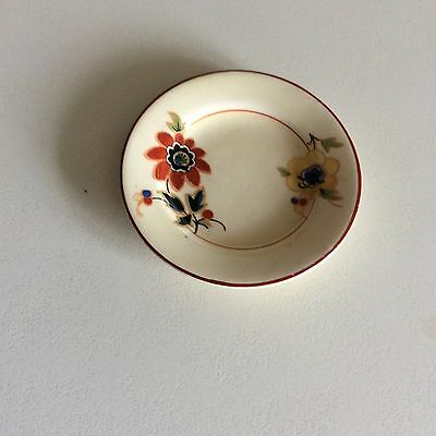 Very Small Antique Vintage Royal Staffordshire Porcelain English Plate